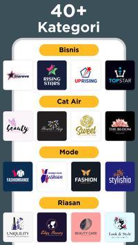 Pembuat Logo - Buat Desain Logo Dan Grafis Icon screenshot 1