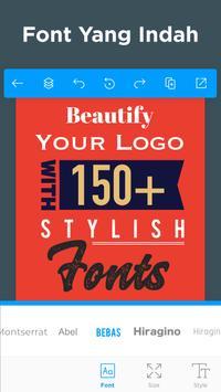 Pembuat Logo - Buat Desain Logo Dan Grafis Icon screenshot 12