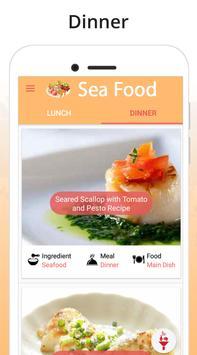 Seafood Recipes Ekran Görüntüsü 1