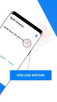 Rechtschreibprüfung - englischer Wörter Korrektur Screenshot 1
