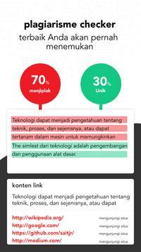 Plagiat Pemeriksa - Duplikat Konten Detektor screenshot 10