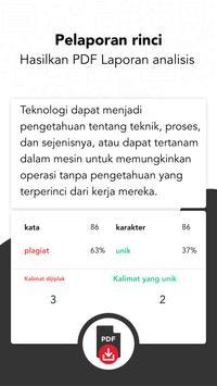 Plagiat Pemeriksa - Duplikat Konten Detektor screenshot 2
