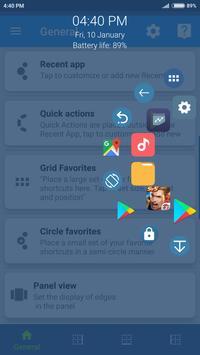 Sidebar, Edge Screen, Shortcuts - Swiftly Switch постер