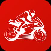 Motorcycle Permit Test 圖標