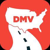 DMV Permit Test 2021 ícone