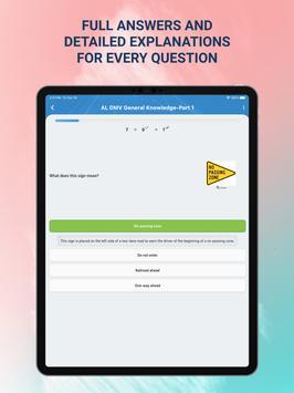 DMV Permit Test 2021 imagem de tela 14