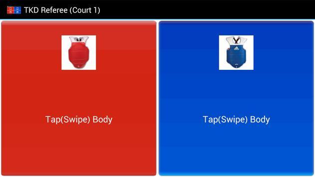 TKD Scoring WiFi Client स्क्रीनशॉट 1