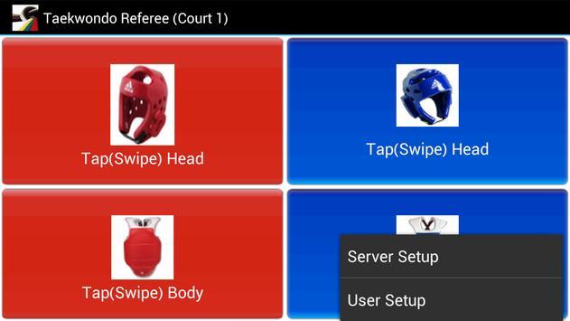 TKD Scoring WiFi Client स्क्रीनशॉट 2