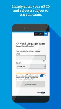 AP World Languages Exam App (AP WLEA) poster
