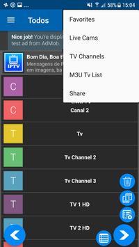 IPTV Tv Online, Series, Movies, Player IPTV تصوير الشاشة 1