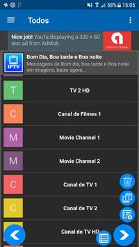 IPTV Tv Online, Series, Movies, Player IPTV تصوير الشاشة 5