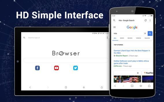 Browser für Android Screenshot 8