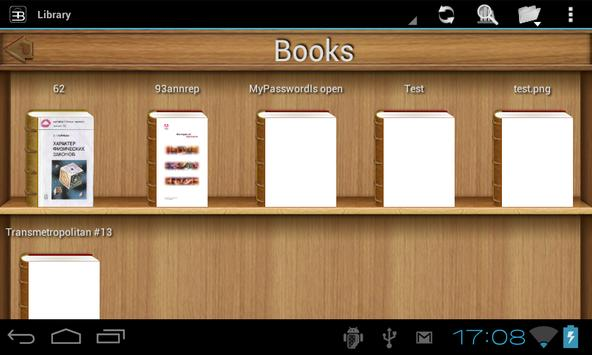EBookDroid स्क्रीनशॉट 17