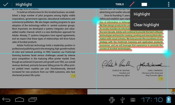 EBookDroid स्क्रीनशॉट 21