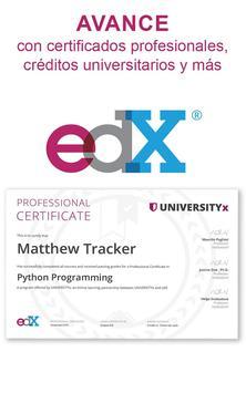 edX captura de pantalla 5
