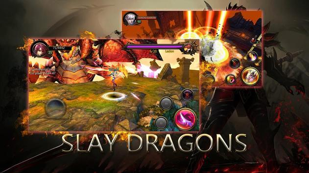 Dragons War Legends - Raid shadow dungeons poster