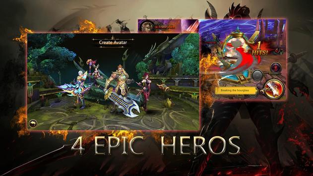 Dragons War Legends - Raid shadow dungeons screenshot 1