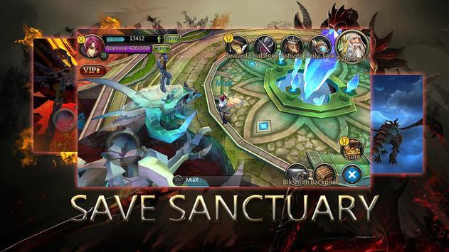 Dragons War Legends - Raid shadow dungeons screenshot 2