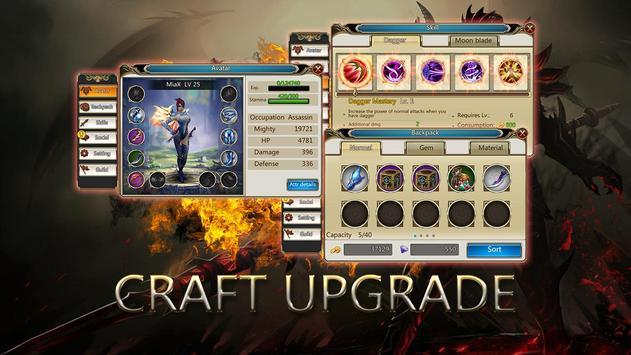 Dragons War Legends - Raid shadow dungeons screenshot 4