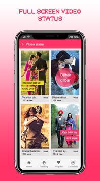 Full Screen Video Status App screenshot 1