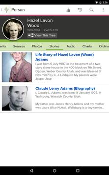 FamilySearch Tree screenshot 4