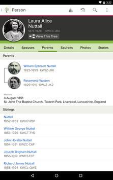 FamilySearch Tree screenshot 8