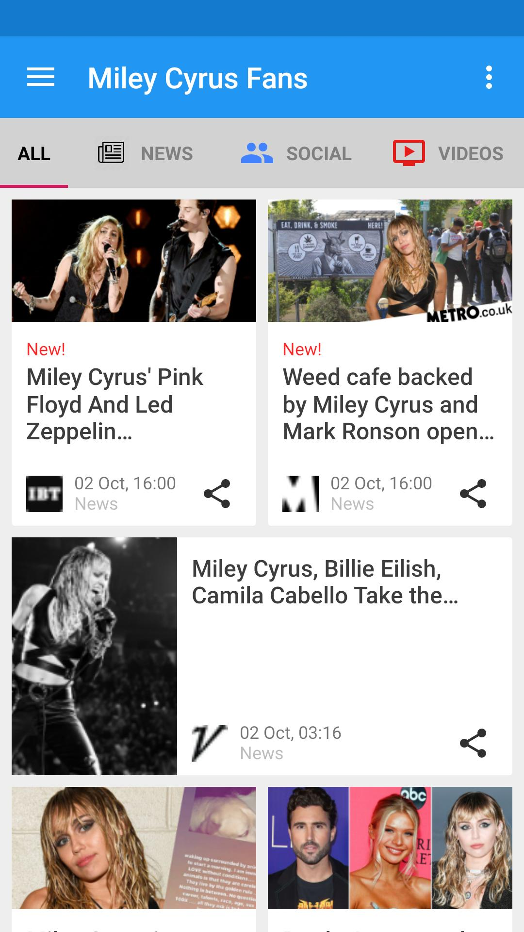 Miley Cyrus Fan Club News And Updates For Android Apk Download