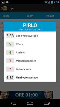 Serie A Fantasy Football screenshot 1