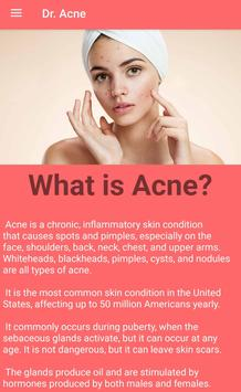 Dr. Acne poster