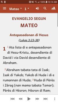 Papiamentu Bible imagem de tela 1