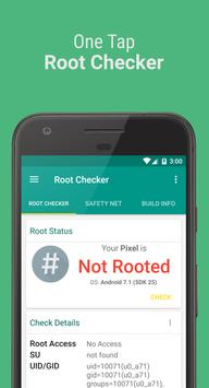 Root Checker Affiche