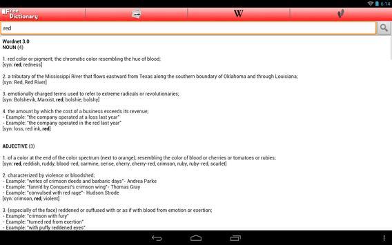Free Dictionary Org screenshot 5