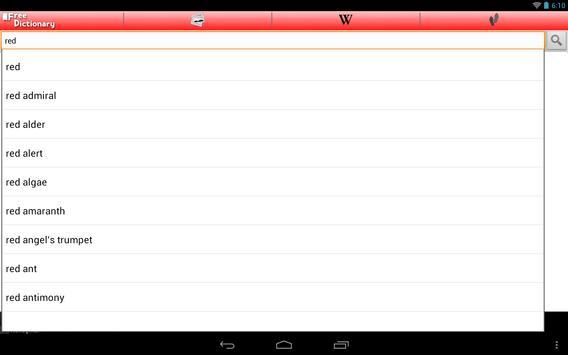 Free Dictionary Org screenshot 6