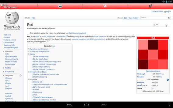 Free Dictionary Org screenshot 8