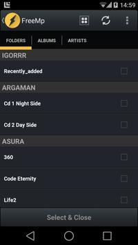 FreeAmp (Free Audio Player) Screenshot 3