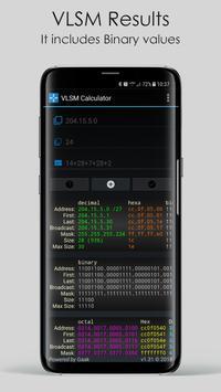 VLSM Calculator screenshot 2
