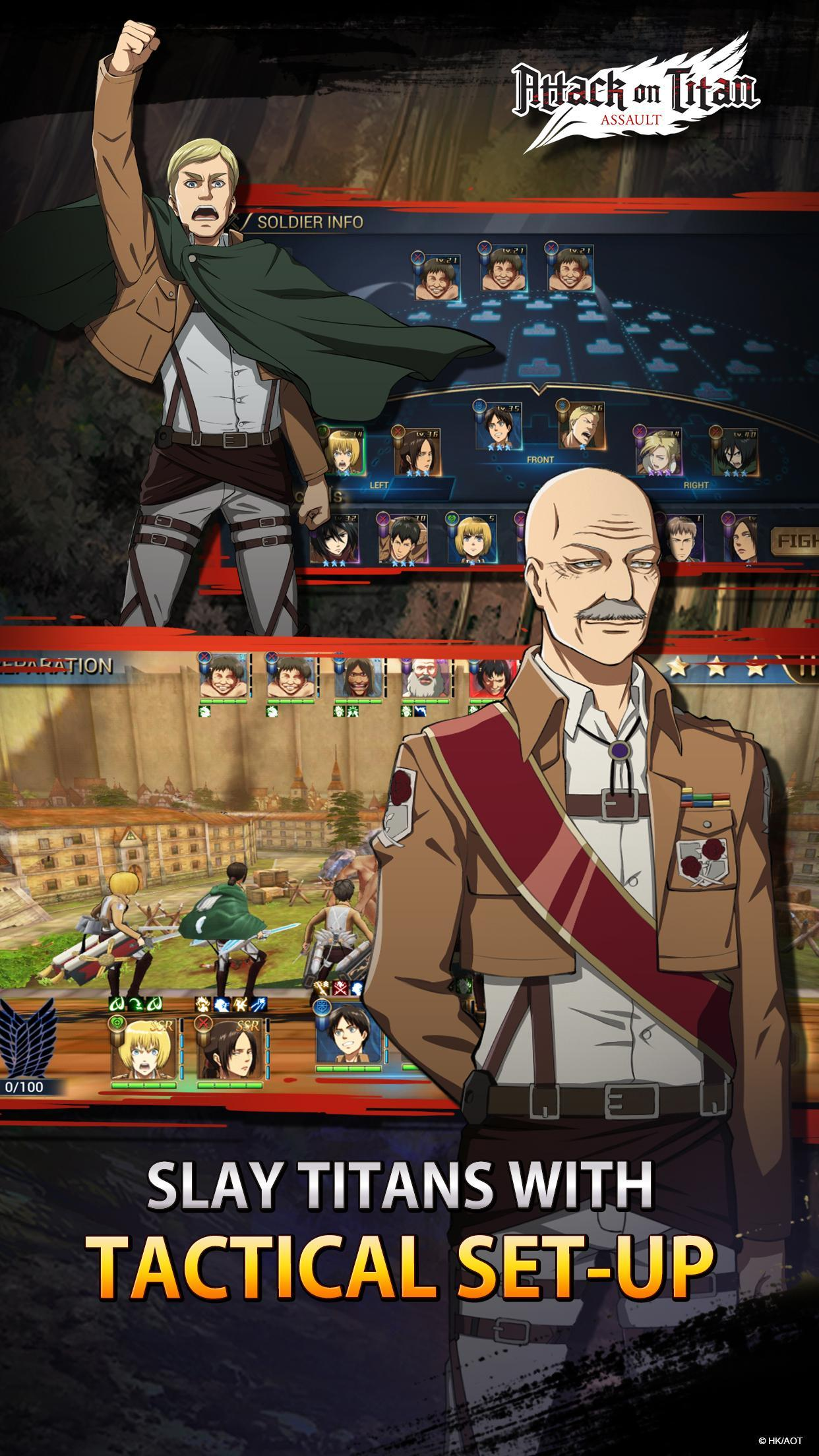Attack on Titan: Assault for Android - APK Download