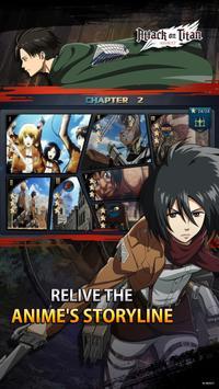 Attack on Titan: Assault ảnh chụp màn hình 9