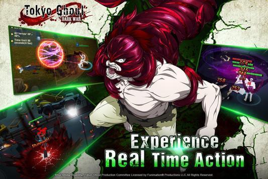 Tokyo Ghoul: Dark War captura de pantalla 4