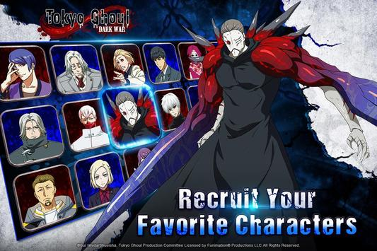 7 Schermata Tokyo Ghoul: Dark War