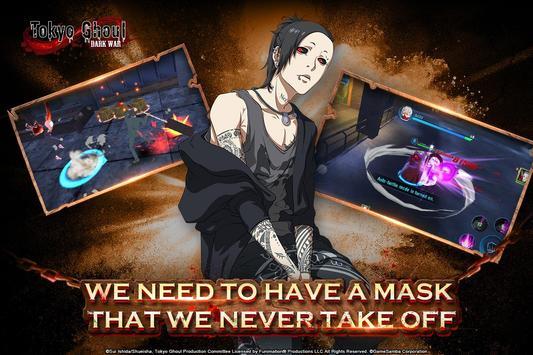 Tokyo Ghoul: Dark War Cartaz