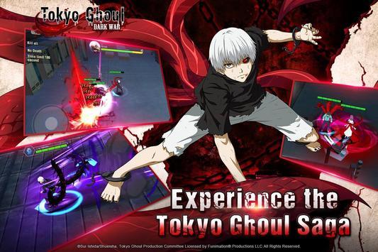 Tokyo Ghoul: Dark War captura de pantalla 12