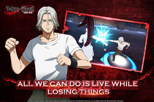 Tokyo Ghoul: Dark War imagem de tela 1