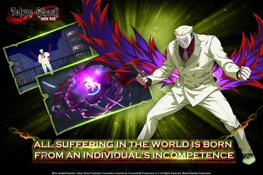 Tokyo Ghoul: Dark War imagem de tela 2