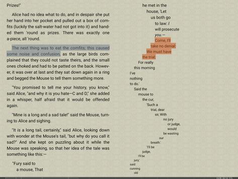 FBReader captura de pantalla 9