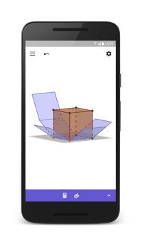 Calculadora Gráfica GeoGebra 3D imagem de tela 1
