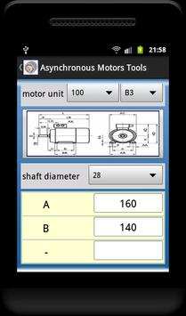 Asynchronous Motors Tools demo screenshot 4