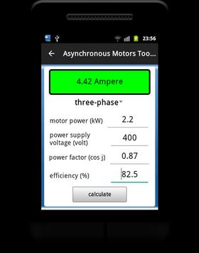 Asynchronous Motors Tools demo screenshot 7