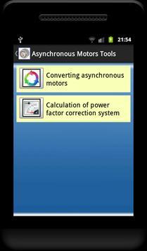 Asynchronous Motors Tools demo screenshot 13