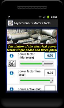 Asynchronous Motors Tools demo screenshot 2